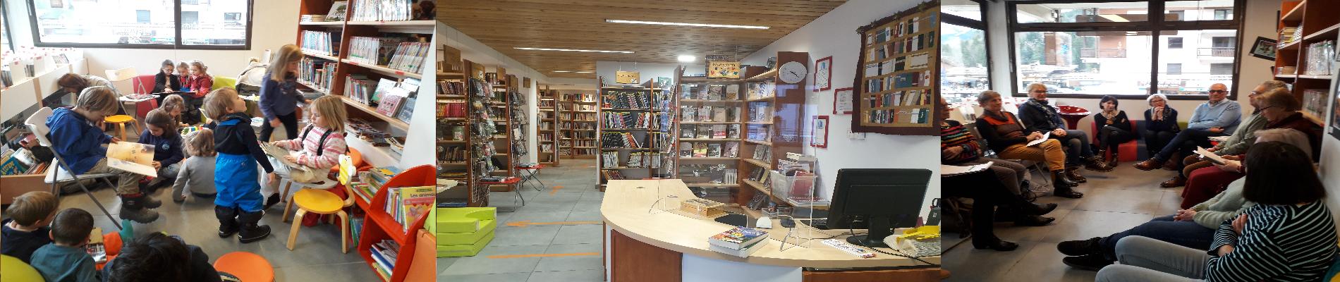 Bibliothèque pour tous Grand Bornand